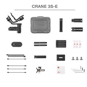 Image 5 - ZHIYUN Crane 3S  resmi vinç 3S/SE 3 Axis Gimbal el sabitleyici desteği 6.5KG DSLR kamera kamera Video kameralar nikon Canon için