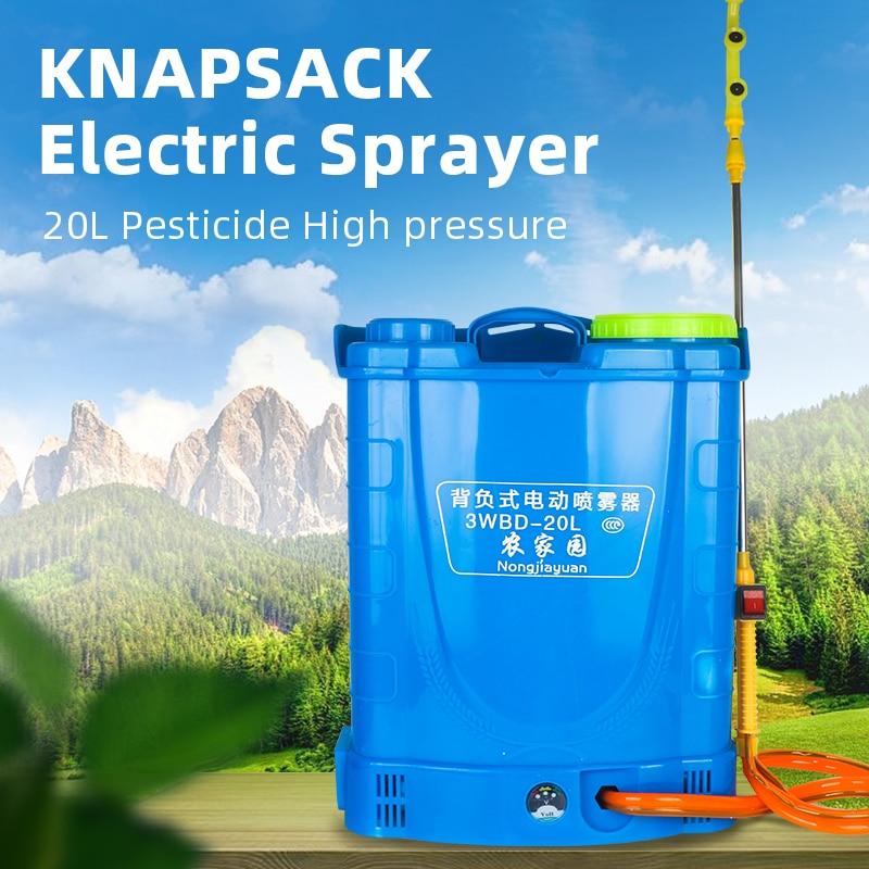 Agriculture Pesticide Electric Sprayer 20L Knapsack Garden Sprayer With Lithium Battery Pressure Sprayer Fruit Tree Spraying