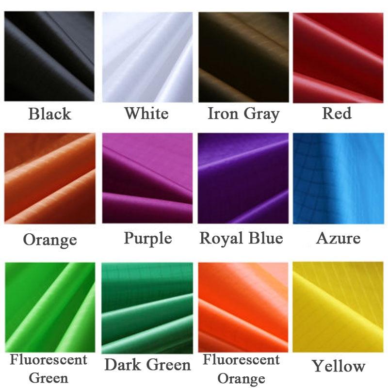10m x 1.45m Polyester tissu Super léger Ripstop cerf-volant tissu PU enduit Icarex tissu imperméable cerf-volant drapeau bannière vêtements pour animaux de compagnie