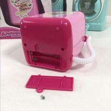 Моделирование стиральная машина игрушка Детские дома Прачечная мини ролевые игры игрушки для детей Q6PD