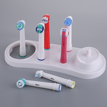 Electric Toothbrushes Holder Stand Support White Tooth Brush Heads Base With Charger Hole For Oral B 3709 3728 D18
