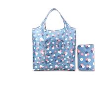 Waterproof  Foldable Shopping Tote Carrying Shoulder Eco Reusable Bag Ladies Printing