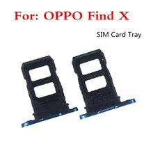 Con 1 OPPO Tìm X Khe Cắm Thẻ Khay SIM Khay SIM + Thẻ Nhớ Micro SD Khay Đựng khe Cắm Adapter Ổ Cắm Thay Thế