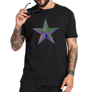 Starstruck T Shirt Beautiful Chromatic Star Tshirt Space Stars Galaxy Cotton Breathable Tee Tops(China)