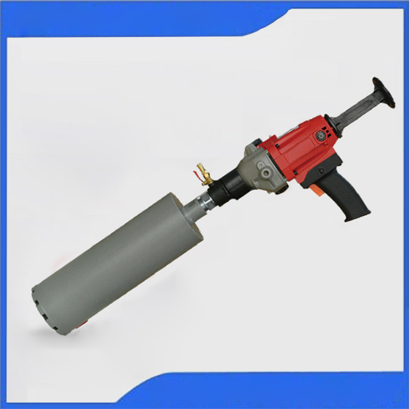 Handheld Diamond Core Drilling Machine 2080W Electric Driller Wall Perforated Air Conditioning Hole Drill Machine OB-110E