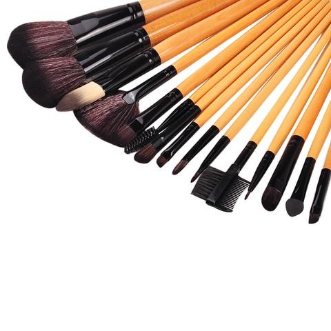 Biutee 10pcs/set Luxury Champagne makeup brushes set For Foundation Powder Blush Eyeshadow Concealer Lip Eye Make Up Brush Tools Islamabad