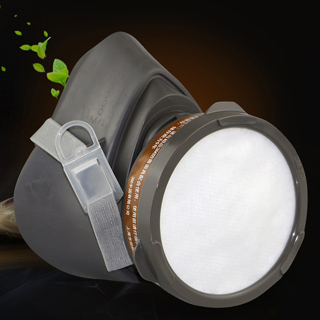3M 320P Dust Mask + 3701CN Filter cotton Half Face Dust-proof Mask Anti Industrial Construction Dust Haze Fog Safety Gas Mask 4