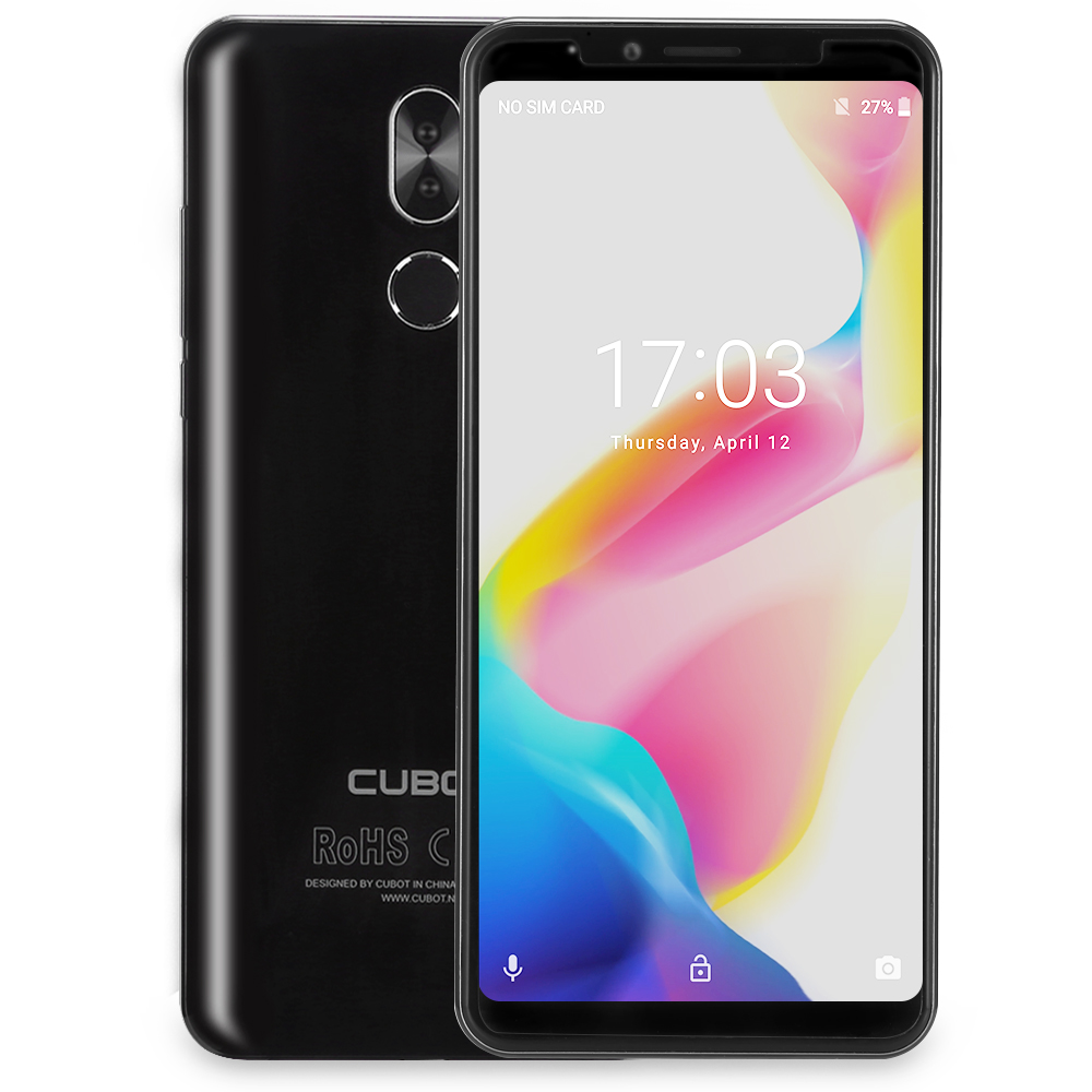 Refurbished CUBOT X18 Plus 4G Smartphone 5.99'' Android 8.0 4GB RAM 64GB ROM MTK6750T Octa Core Dual Cam EU Mobile Phone