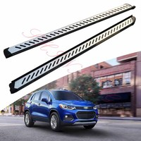 KINGCHER Fit For Chevrolet Trax 2013-2020 Running Boards Side Step Nerf Bar Aluminium
