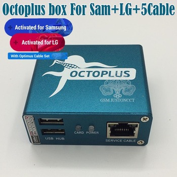 100% Original 2020 new octopus box / Octoplus Box For SAMSUNG For Lg +5 Cables for SAM Unlock Flash Repair Mobile Phone sam sisavath glory box