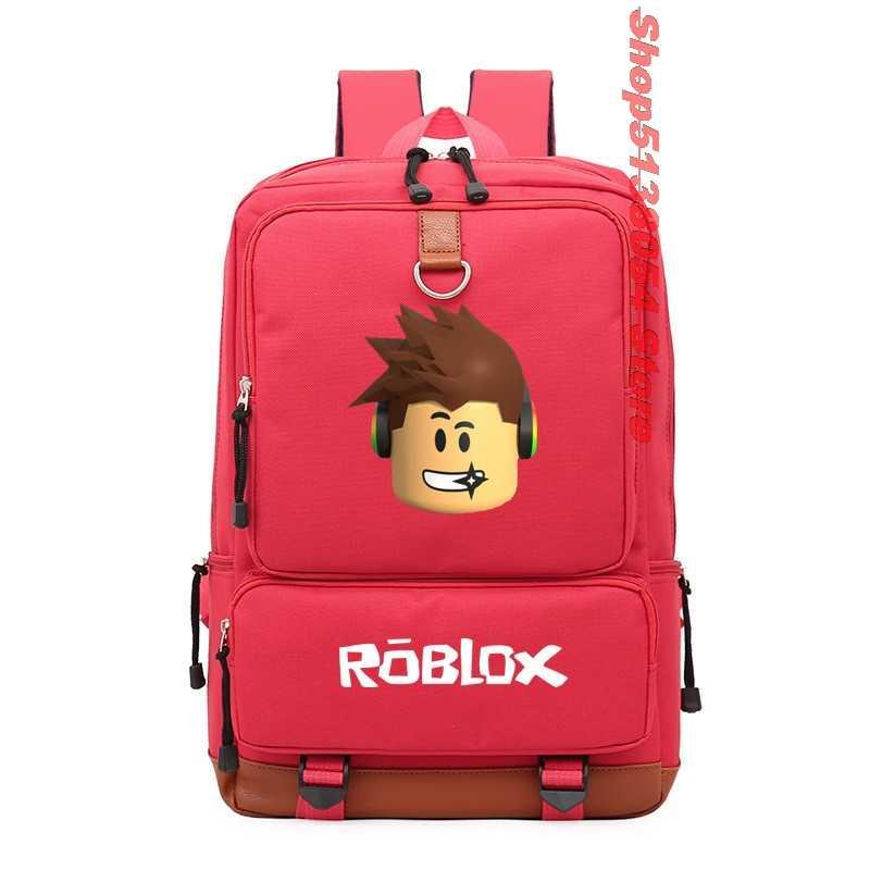 학교 가방 청소년을위한 roblox 배낭 소녀 어린이 소년 어린이 학생 여행 배낭 숄더 백 노트북 bolsa escolar