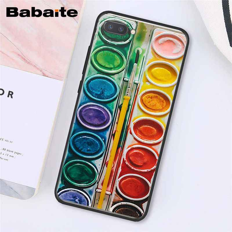 Babaite צבעי מים סט צבעים צבע ציור תיבת טלפון מקרה עבור Huawei Honor 8X 9 10 20 לייט 7A 8A 5A 7C 10i 8C 9X פרו