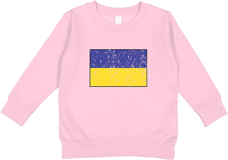 Amdesco USA Flag American Toddler Sweatshirt