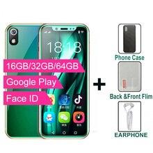 سوبر ميني 4G الهاتف الذكي K TOUCH I9S 16GB/32GB/64GB ROM أندرويد الخليوي واي فاي جوجل اللعب الوجه معرف أصغر طالب الهاتف المحمول