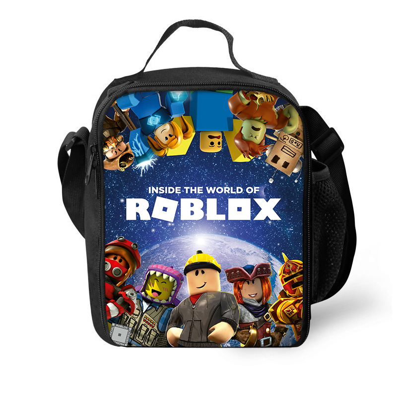 Bag Roblox Cute Outdoor Meal Children Stationery Bag Pencil bag Storgage Bag Pencil Bags     - title=