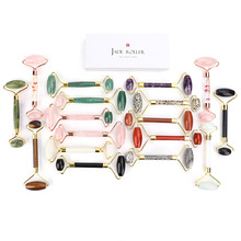 Roller-Massager Skin-Care-Tools Face-Roller Jade Double-Head Healthy Beauty Body Nature