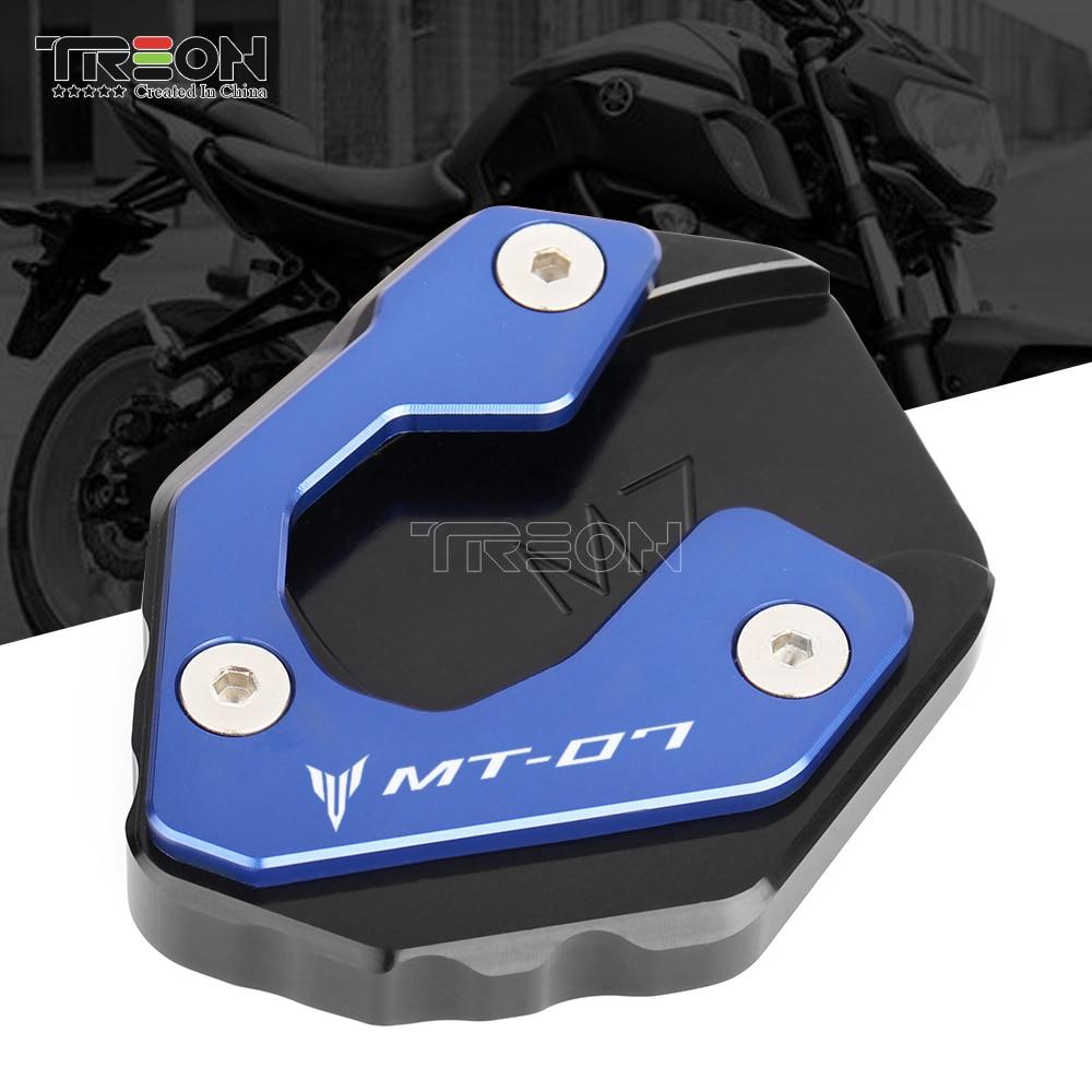Мотоциклетная алюминиевая боковая подставка для YAMAHA MT-07 MT07 XSR700 XSR 700 2014 2015 2016 2017 2018 2019