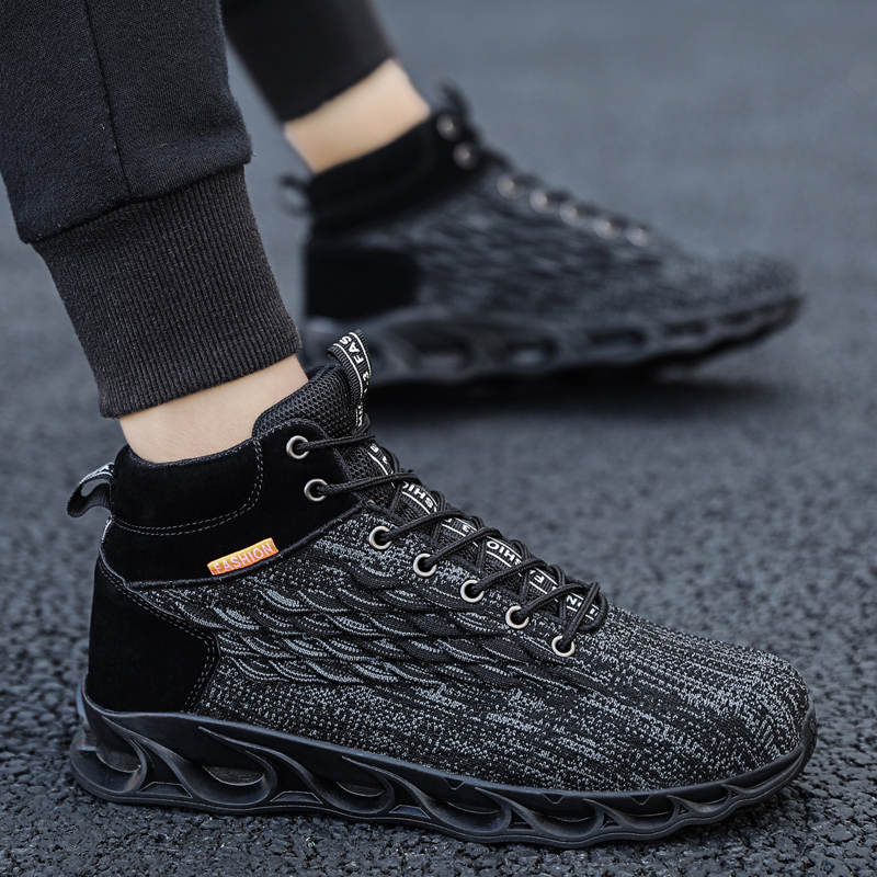 Image 4 - Autumn and winter shoes men outdoor sports shoes basketball shoes truck shoes mens shoes brand shoes China mens casual shoesMens Casual Shoes   -