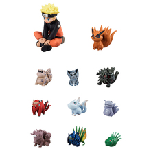 цена на Naruto Action Figure Toys Hot Styles  Zabuza Haku Kakashi Sasuke Kurama Ten tail pupil beast PVC Model Doll Collection Kids Toy