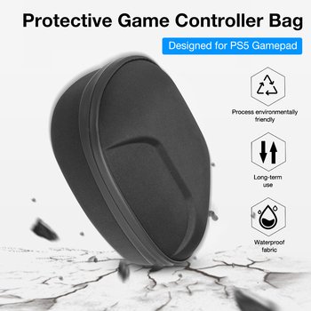 Portable Storage Bag For DualSense Gamepad Protective Case Shockproof Dustproof Cover Shell For PS5 Game Controller Accessories
