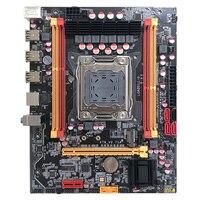 New desktop Motherboard X79 v2.71A LGA 2011 DDR3 ECC For INTEL I7 E5 V1 E5 V2 64GB SATA3 X79 mainboard PC boards sales