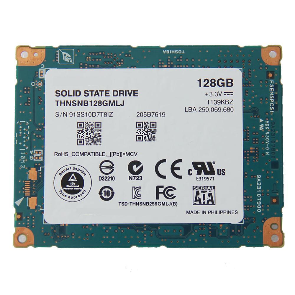 1 8 128GB LIF THNSNC128GMLJ SSD For 2009 Macbook Air A1304 Rev b Rev c MC233