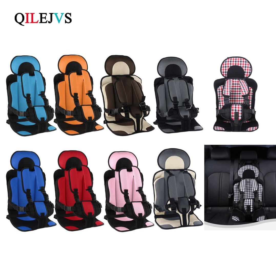 1-5T Reise Baby Sicherheit Sitzkissen Mit Kind Sicheren Gürtel Stoff Matte Wenig Kind Träger Kind Auto sicherheit Sitze