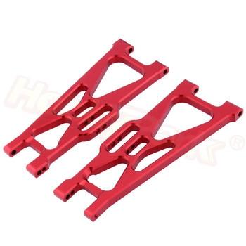 Aluminiowe tylne dolne ramię zawieszenia dla RC 1:10 elektryczne Himoto E10 E10XT E10XTL Katana Truggy części zamienne 33603G 31604