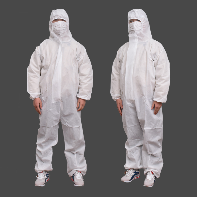 1 Set Prevent Bacterial Virus Disposable Workwear Waterproof Oil-Resistant Coverall For Spary Painting Deco Clothes Overall Suit