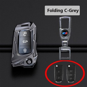 Image 5 - Aviation zinc alloy Car Key Case For VW Volkswagen Polo Golf 4 5 6 7 T5 Passat B6 B5 Skoda Octavia A5 A7 Seat Leon Ibiza Ateca