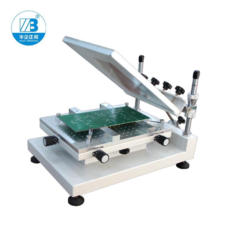 Height Adjustable PCB Screen Printer/Stencil Printing Machine