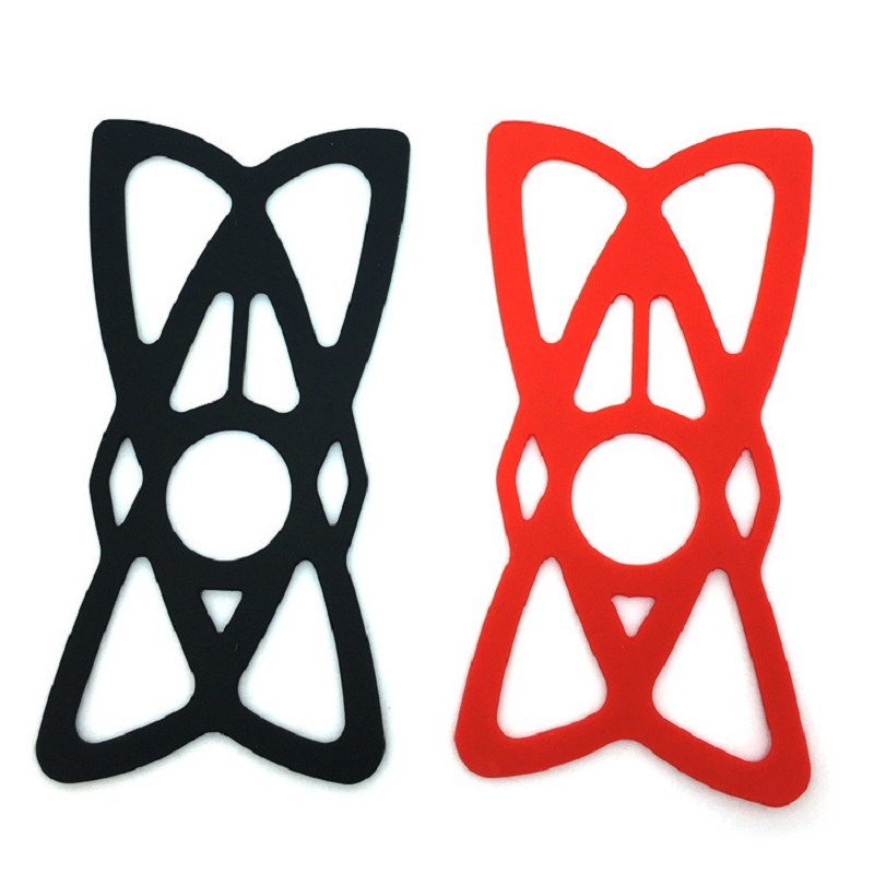 Anti-Slip Silicone Bands Motorcycle/Bike/Bicycle Handlebar Cradle Mount Holder Secure Clip Mobile Phone Bracket Random Sent
