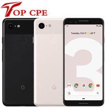 Google pixel 3 3xl original desbloqueado gsm 4g android telefone móvel 12.2mp & duplo 8mp octa núcleo snapdragon 845 4gb & 64gb amoled nfc