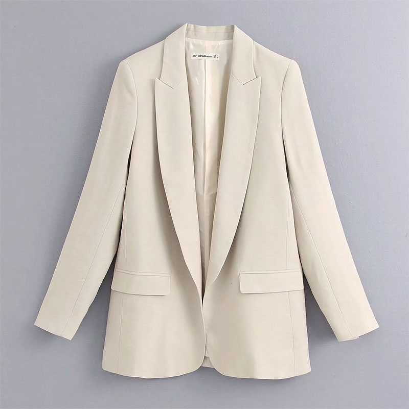 2020 england style solid casual silk blazer women blazer mujer 2020 women harem suit pants women trousers women 2 pieces set