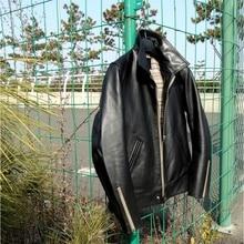 Water Stained Horse Japanese British-Style Leather Jacket 551 Czochralski Versio