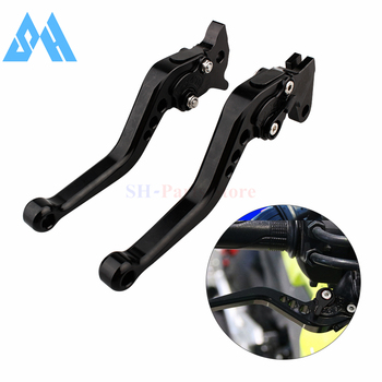 Black Short Brake Clutch Levers For Honda CB300R CBR250R CBR300R CB300F CBR500R CB500F CB500X GROM MSX125 NSR50 Z125 monkey bike image