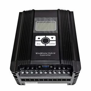 Image 2 - 400 واط 12 فولت الرياح الشمسية الهجين MPPT (دفعة نموذج) شاحن تحكم مع شاشة الكريستال السائل ، RS232 الاتصالات ، المزدوج 12A منفذ الإخراج
