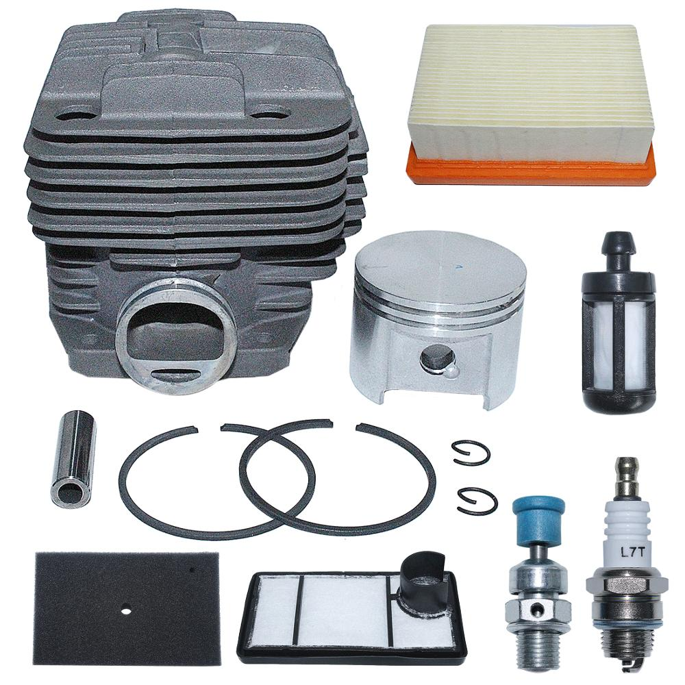 49mm Cylinder Air Fuel Filter Kit For Stihl TS400 Concrete Cut-Off Saw Replace 4223 020 1200