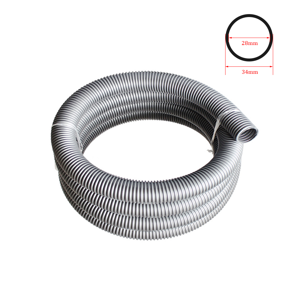 Inner 28mm/Outer 34mm Hose Vacuum Cleaner Bellows Straws Factory Thread Hose Vacuum Cleaner Tube Soft Pipe Replacement Part