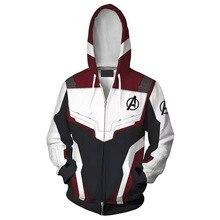 Endgame Hoodie Cosplay Jacket Sweatshirt Kostuums Quantum Rijk Broek Superhero Hoodies Lange Broek Pak Kostuum