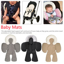 Baby Infant Newborn Stroller Pad Body Support Cushion Soft Sleeping Pillow Safe Car Qualified Neck Protection