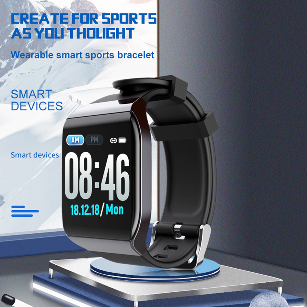 Smartwatch <font><b>Smart</b></font> Armband Band mit Herz Rate Monitor EKG Blutdruck <font><b>IP68</b></font> Fitness Tracker Wrisatband <font><b>Smart</b></font> Uhr image