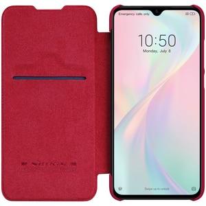 Image 4 - For Xiaomi mi A3 Case Cover for xiaomi mi cc9e NILLKIN Vintage Qin Flip Cover wallet PU leather PC For Xiaomi Mi CC9 case 6.39