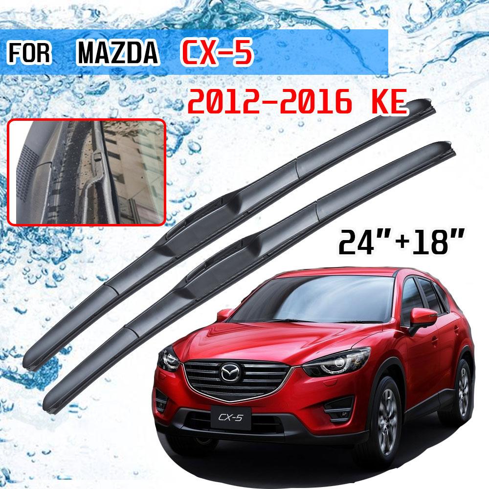 Щетки стеклоочистителя переднего лобового стекла для Mazda CX-5 2013 2014 2015 2016 KE CX5 CX 5 MK1