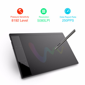 VEIKK A30 Graphic Drawing Tablet Illustrator 10x6 inches Active Area Artists Digital Drawing Pad Digital Graphic Illustrator