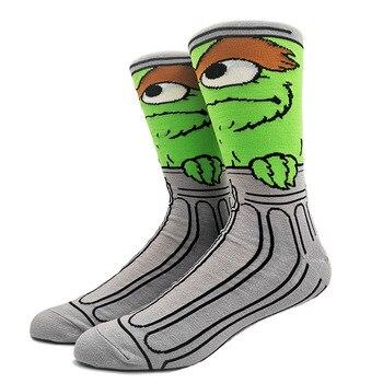 Cartoon Rabbit Sock Casual Hip Hop Creative Soft Comfortable Funny Novelty Skateboard socks Men Calcetines Hombre Divertido 38