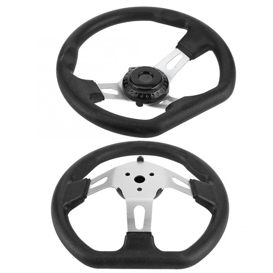 270mm Steering Wheel for Go-Kart Buggy Racing Cart Accessory Steering Wheel