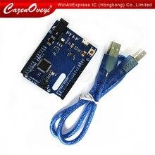 Leonardo Atmega32u4 R3 Microcontrollore Scheda di Sviluppo con Il Cavo Usb Compatibile per per Arduino Fai da Te Starter Kit