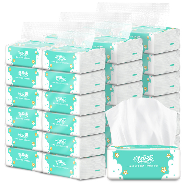 Gentle Cool Bag Paper Extraction Household Logs Drawing Paper Toilet Paper 36 Bag 3 Lifting And Loading Tissue Paper Napkin Fact