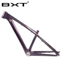 Bxt t800 carbono mountain bike quadro 26er camaleão mtb crianças quadro de freio a disco 1-1/8